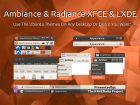 Ambiance & Radiance For Xfce & LXDE